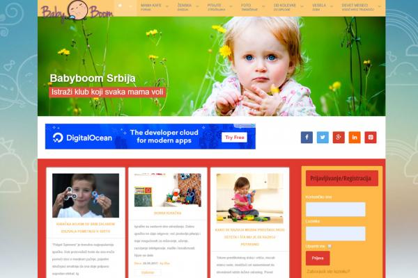 Childcare online community